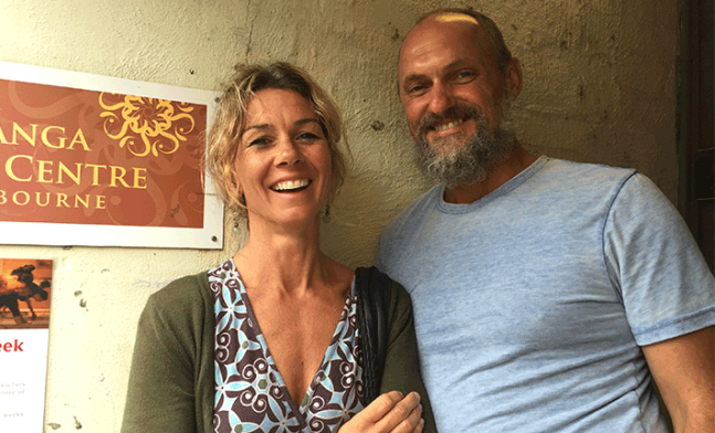Greg and Tracy Cooper Ashtanga Yoga Teachers
